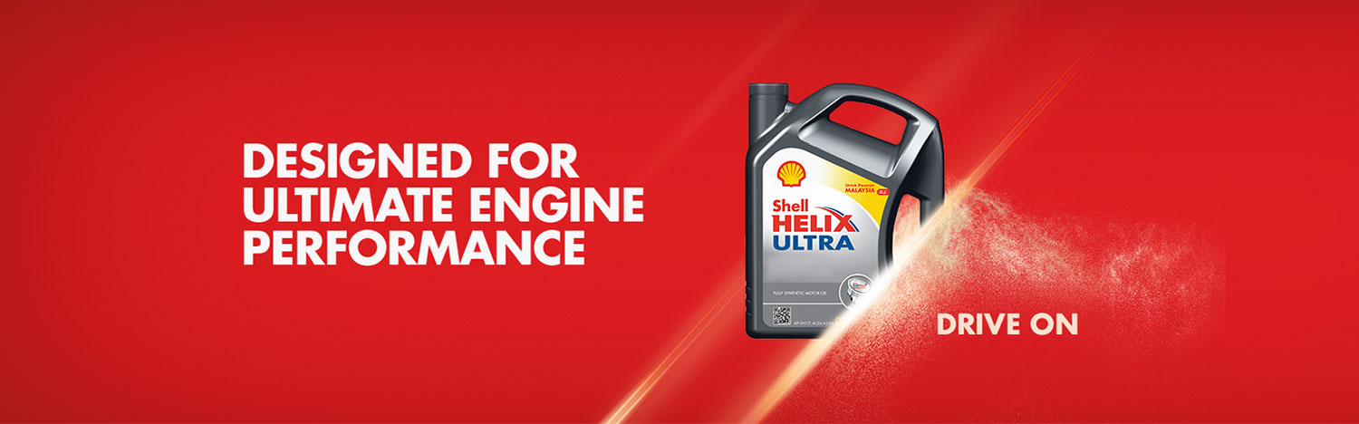 Designed for Ultimate Engine Performance - Shell HELIX Drive On